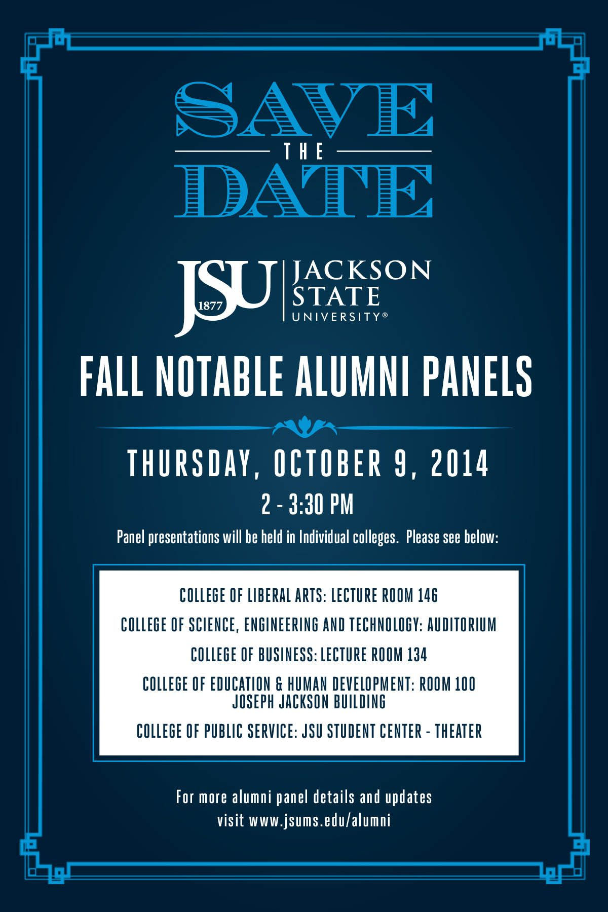 STD fall notable alumni panels