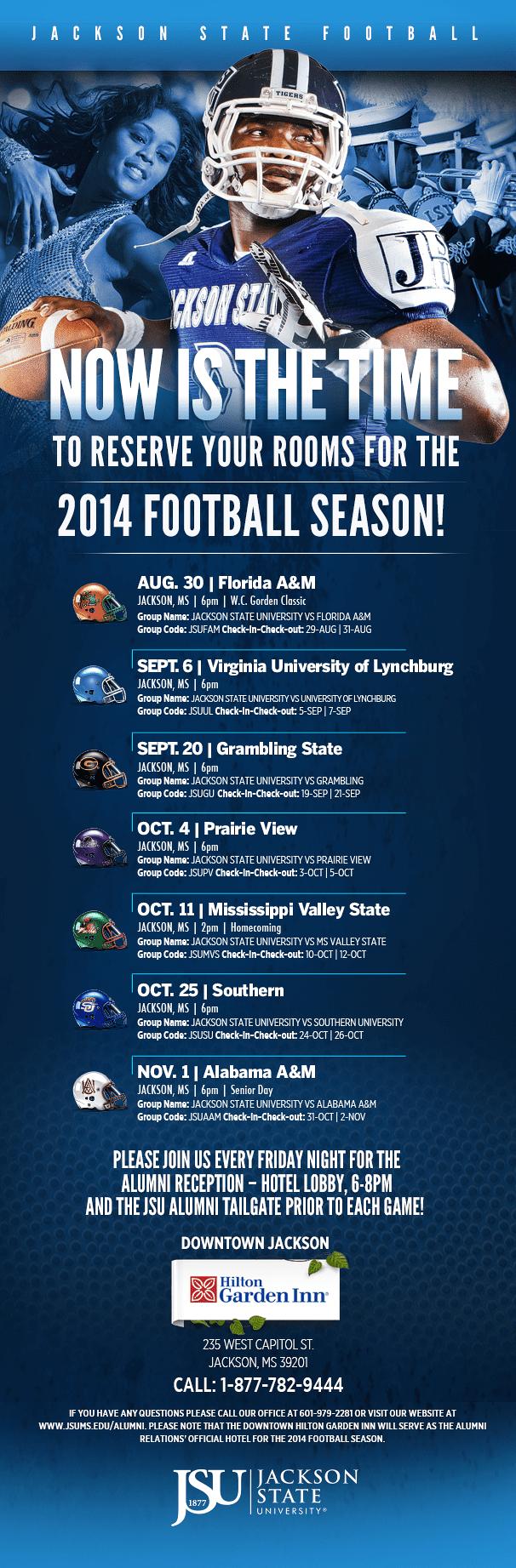JSU 2014 season