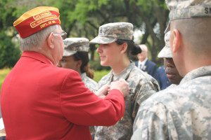 CDT Visoski American Legion Medal