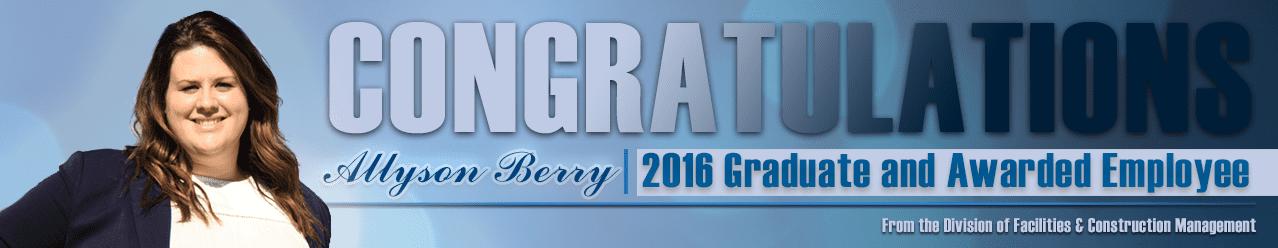 Slider - Allyson Berry (Grad and Award)