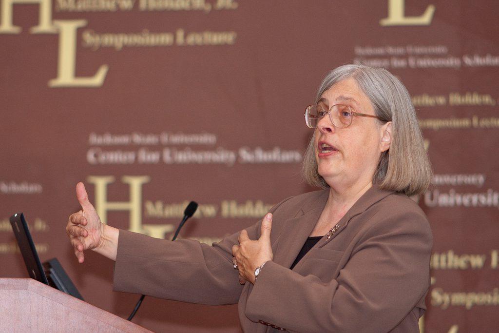 2008 Holden Lecturer, Dr. Theda Skocpol