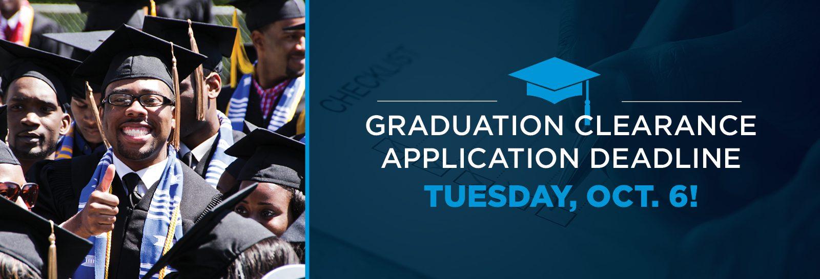 Graduation Clearance slider