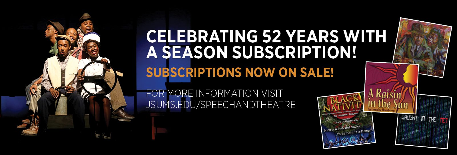 theater subscription slider