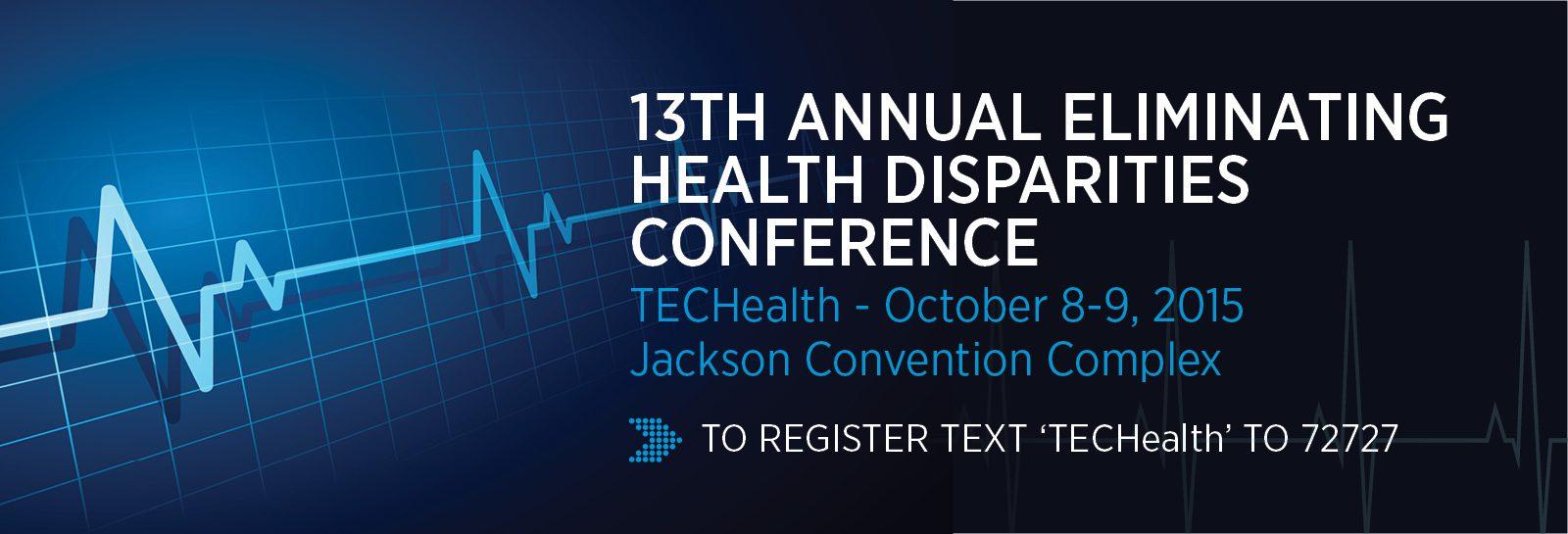 Eliminating Health Disparities Conference slider